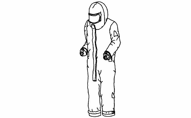 Рисунок А.2 - Примеры спецодежды для пескоструйных работ типа 3