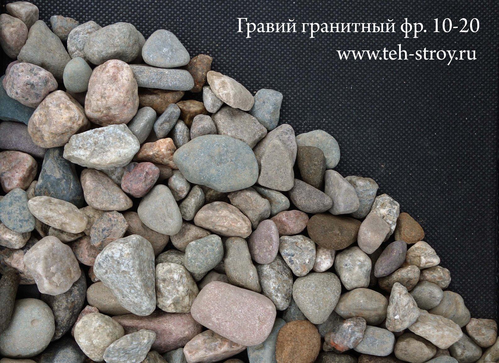 Щебень гранитный 10-20 авекс Ижевск строительная компания