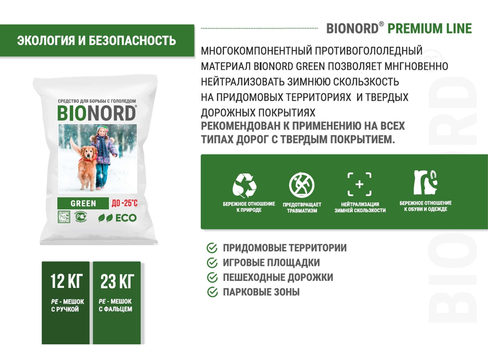BIONORD GREEN - BIONORD® Premium Line