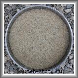 Песок кварцевый окатанный 0,8-1,4 - мешок 25 кг
