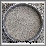 Песок кварцевый окатанный 0,8-2,0 - мешок 25 кг