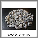 Крошка кварцевая каменная дымчатая серая 10,0-20,0 - МКР 1 т