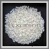 Крошка мраморная каменная белая 7,0-12,0
