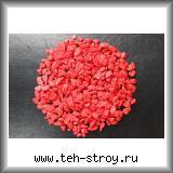 Крошка мраморная крашеная красная 5,0-10,0 - мешок 20 кг
