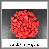 Крошка мраморная крашеная красная 10,0-20,0 - мешок 20 кг