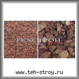 Крошка кварцитная каменная малиновая 5,0-20,0 - мешок 25 кг