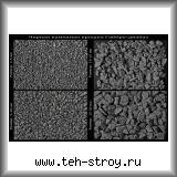 Черная каменная крошка габбро-диабаза 15,0-20,0 в упаковке по 25 кг (мешок)