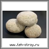 Галька речная пёстрая 150,0-200,0 в упаковке по 25 кг (мешок)
