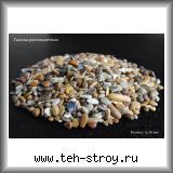 Галька разноцветная (фантазия) 6,0-12,0 в упаковке по 25 кг (мешок)