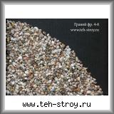 Рассев из гравия мытого 3-10 4,0-6,0 по 25 кг мешок