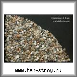 Рассев из гравия мытого 3-10 6,0-10,0 в упаковке по 25 кг (мешок)