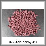 Щебень декоративный крашеный бордовый 5,0-10,0 по 20 кг мешок