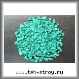 Щебень декоративный крашеный изумрудный 5,0-10,0 по 20 кг мешок