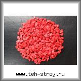 Щебень декоративный крашеный красный 5,0-10,0 по 20 кг мешок