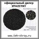 Купершлак (абразивный порошок) 0,8-3,0 в упаковке по 1 т (МКР)