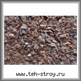 Розовая каменная крошка кварцита 5,0-10,0 по 1 т МКР