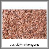 Розовая каменная крошка кварцита 5,0-10,0 по 25 кг мешок