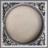 Высококачественный окатанный кварцевый песок 0,1-0,63 в упаковке по 25 кг (мешок)