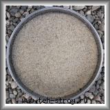 Высококачественный окатанный кварцевый песок 0,63-1,2 в упаковке по 25 кг (мешок)