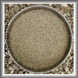 Высококачественный окатанный кварцевый песок 1,2-3,0 по 25 кг мешок