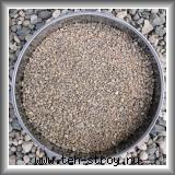 Кварцевый песок окатанный 2,0-5,0 по 25 кг мешок