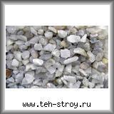 Кварцевый щебень (крошка жильного кварца МКО) 5,0-10,0 в упаковке по 1 т (МКР)