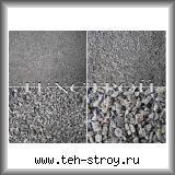 Серая каменная крошка гранита (фракционная, мытая) 5,0-10,0 по 25 кг мешок