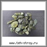 Галтованный змеевик зеленый 20,0-40,0 по 25 кг мешок